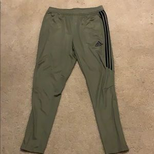 Brand new tan adidas pants